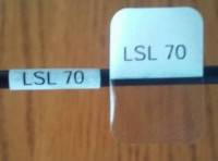 Cable Labels LSL-70 ( 156 Labels per Sheet) - Product Image