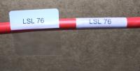Cable Labels LSL-76 ( 63 Labels per Sheet) - Product Image