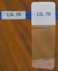 Cable Labels LSL-78 ( 21 Labels per Sheet) - Product Image