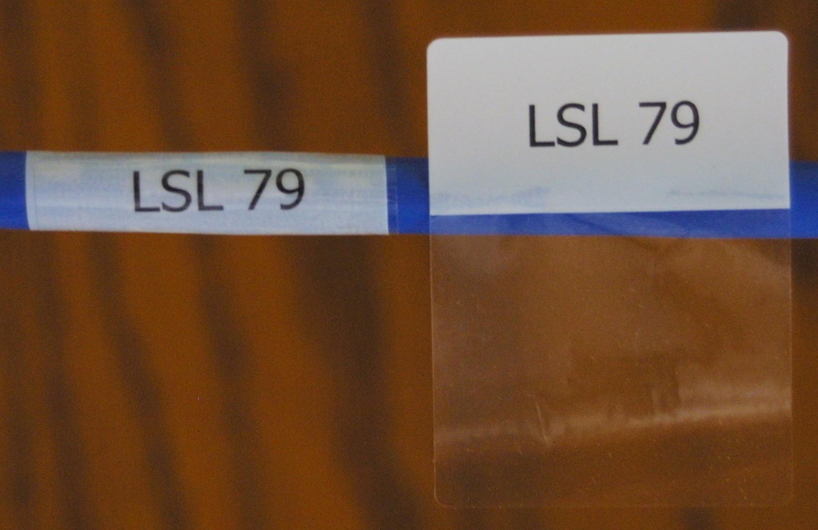 Cable Labels Lsl 79 16 Labels Per Sheet