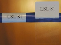Cable Labels LSL-81 ( 54 Labels per Sheet) - Product Image